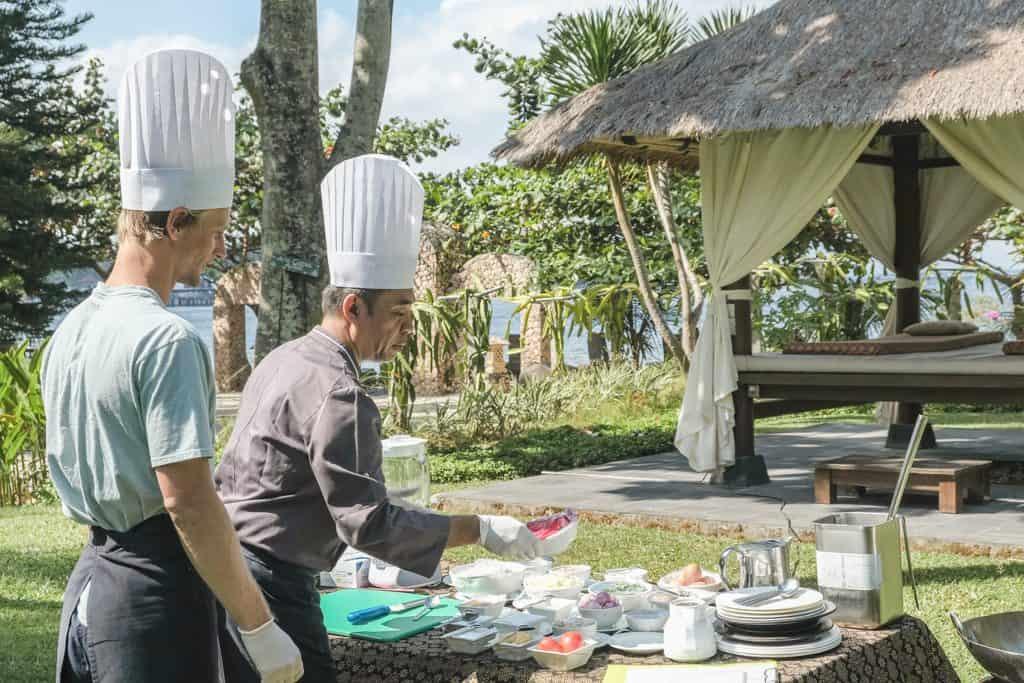 Sheraton Senggigi Beach Resort in Lombok, Indonesia