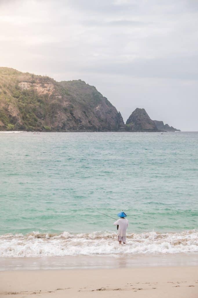 20 Photos to Inspire You to Visit Lombok | Mawun Beach in Lombok, Indonesia | Reasons to Visit Lombok, Indonesia