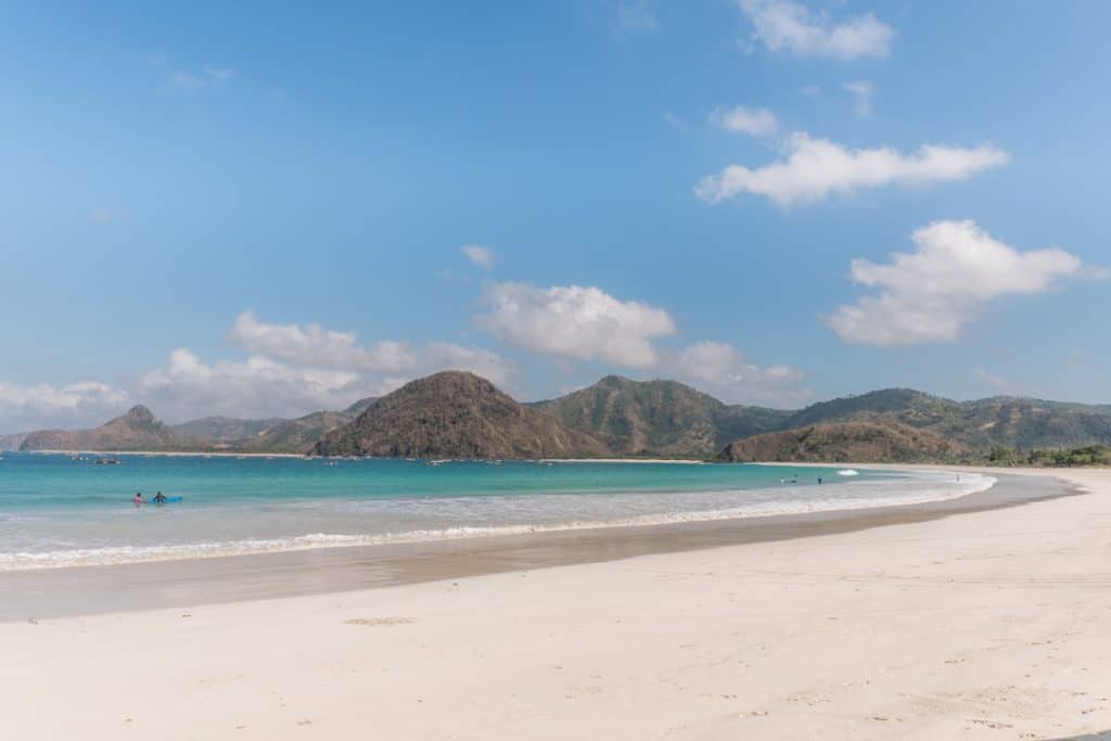 20 Photos to Inspire You to Visit Lombok | Selong Belanak Beach in Lombok, Indonesia | Reasons to Visit Lombok, Indonesia