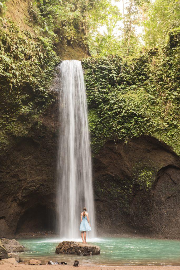 Where to Find the Best Waterfalls in Bali, Indonesia | Tibumana Waterfall