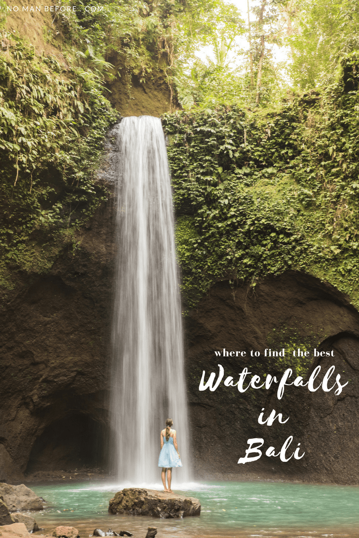 Bali is a waterfall-chasers paradise. We trekked through lush jungle and down steep ravines in search of the most magical waterfalls in Bali, Indonesia. Check out this guide to discover the best waterfalls in Bali. #bali #ubud #indonesia #travel #waterfall