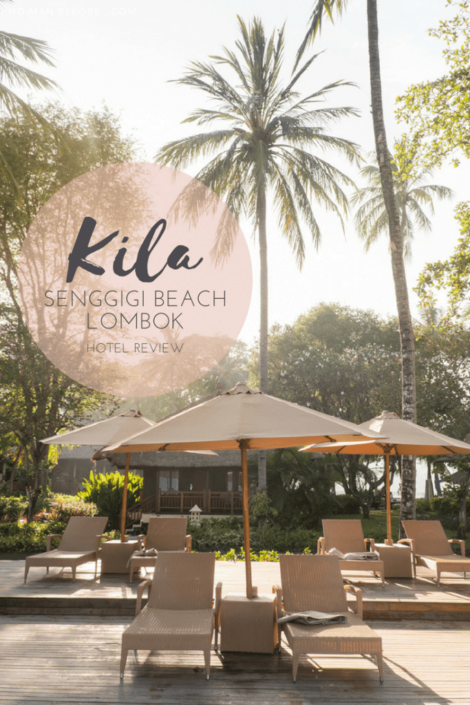 Staying at the Kila Senggigi Beach in Lombok, Indonesia