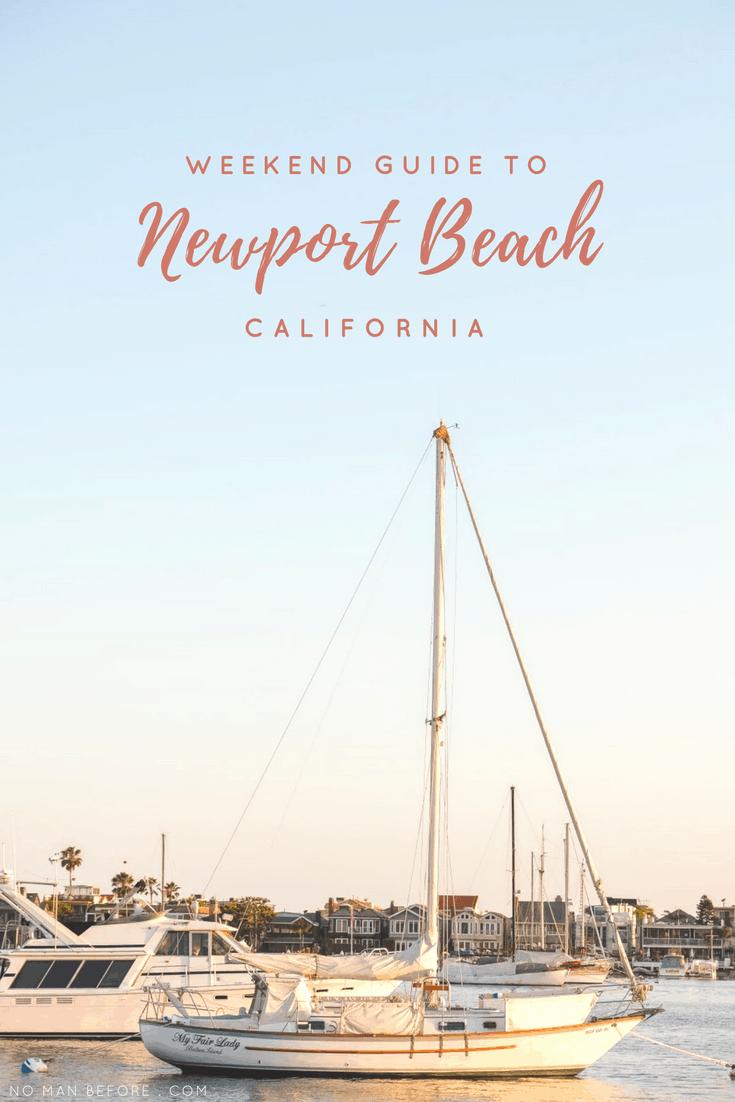 Stunning coastline, Balboa Island, and Banana Stands | A local's weekend guide to Newport Beach, California #newportbeach #orangecounty #california