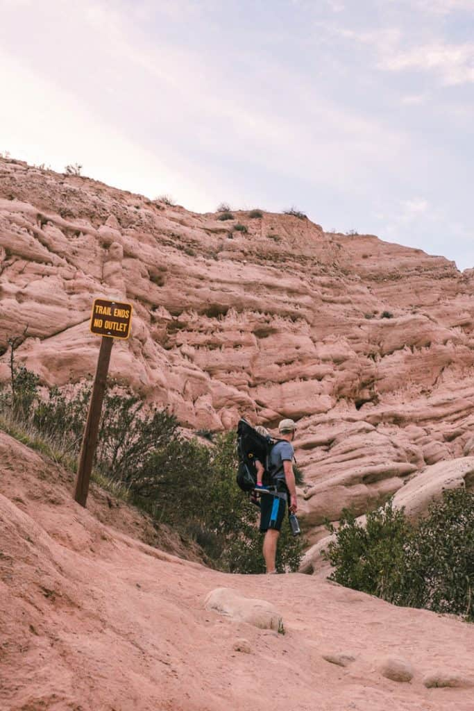 Hiking Red Rock Canyon Trail in Whiting Ranch Wilderness Park   Hike through Whiting Ranch Wilderness Park to find this unique red sandstone canyon that's right here in Southern California   Beautiful hikes in Orange County