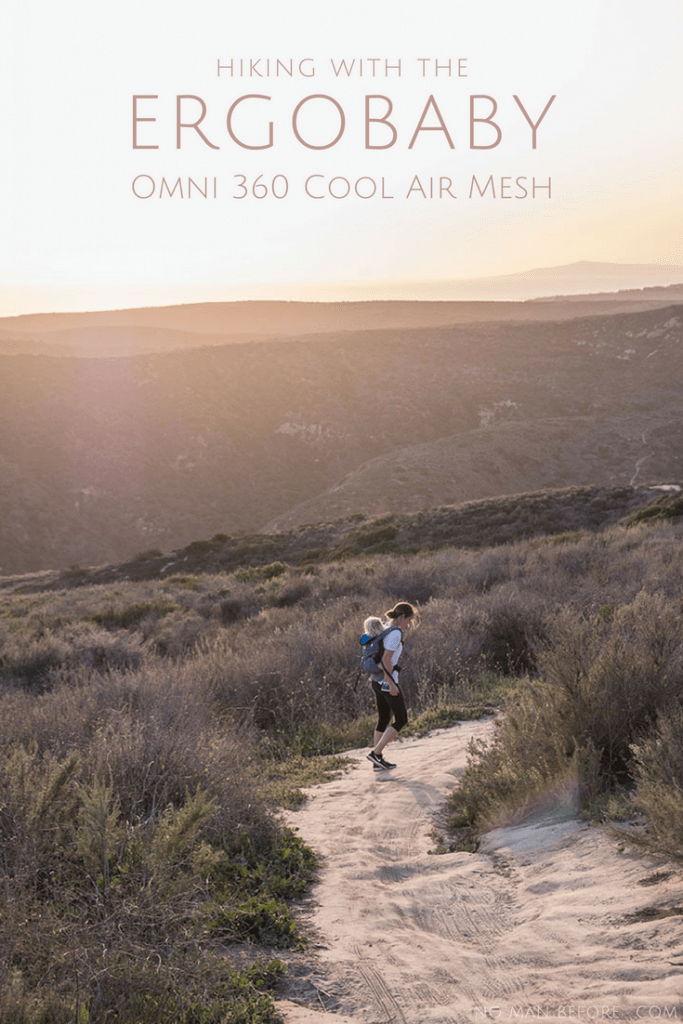 AD Exploring Southern California with Ergobaby: 5 kid-friendly hikes in Orange County | The new Ergobaby Omni 360 Baby Carrier All-In-One: Cool Air Mesh has become our go-to for our favorite hikes around Southern California. The cool mesh paneling makes it lightweight and breathable. It's perfect for these 5 kid-friendly hikes in Orange County, California. Plus, it carries from infants to toddlers in four different carry positions! #orangecounty #california #ergobaby