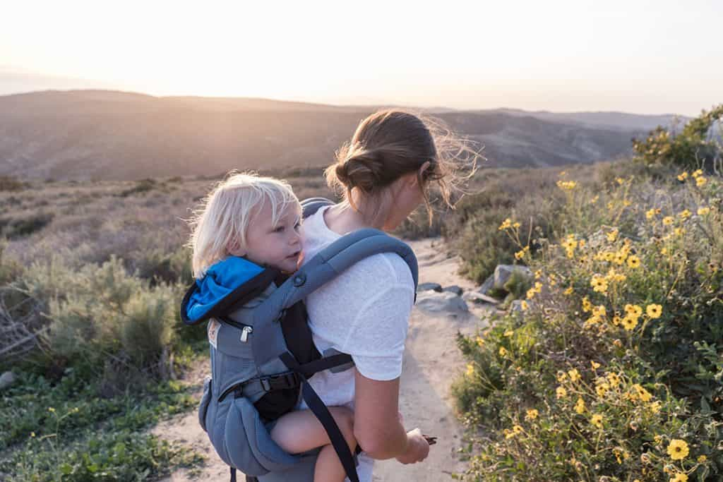 Exploring Southern California with Ergobaby: 5 kid-friendly hikes in Orange County | Ergobaby Omni 360 Cool Air Mesh