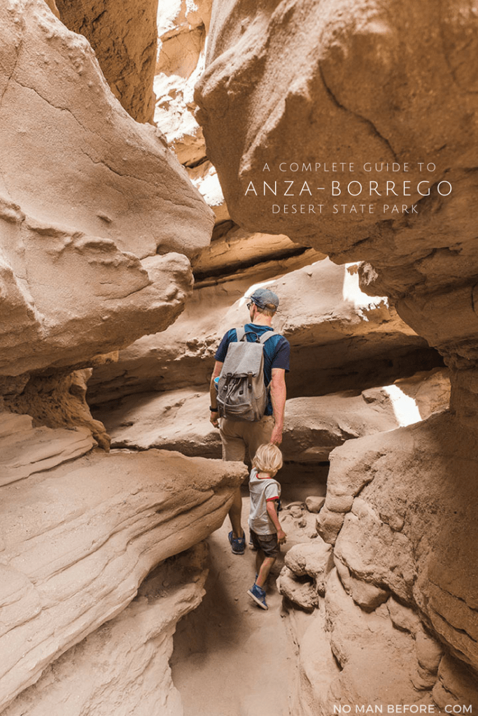 A Complete Guide to Anza-Borrego Desert State Park | Head out for an adventure in Southern California's desert where you can explore slot canyons, a palm oasis, and desert badlands