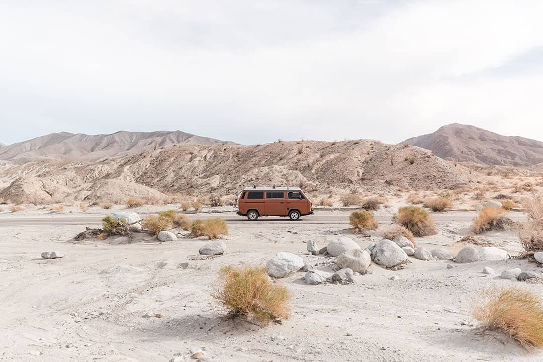 Camping in Anza Borrego Desert State Park