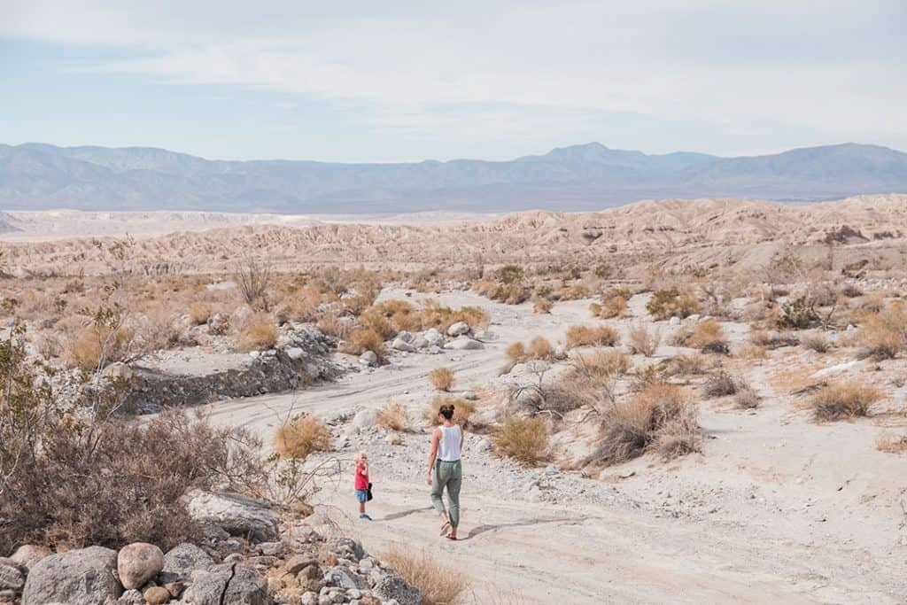 Hiking in Anza Borrego Desert State Park