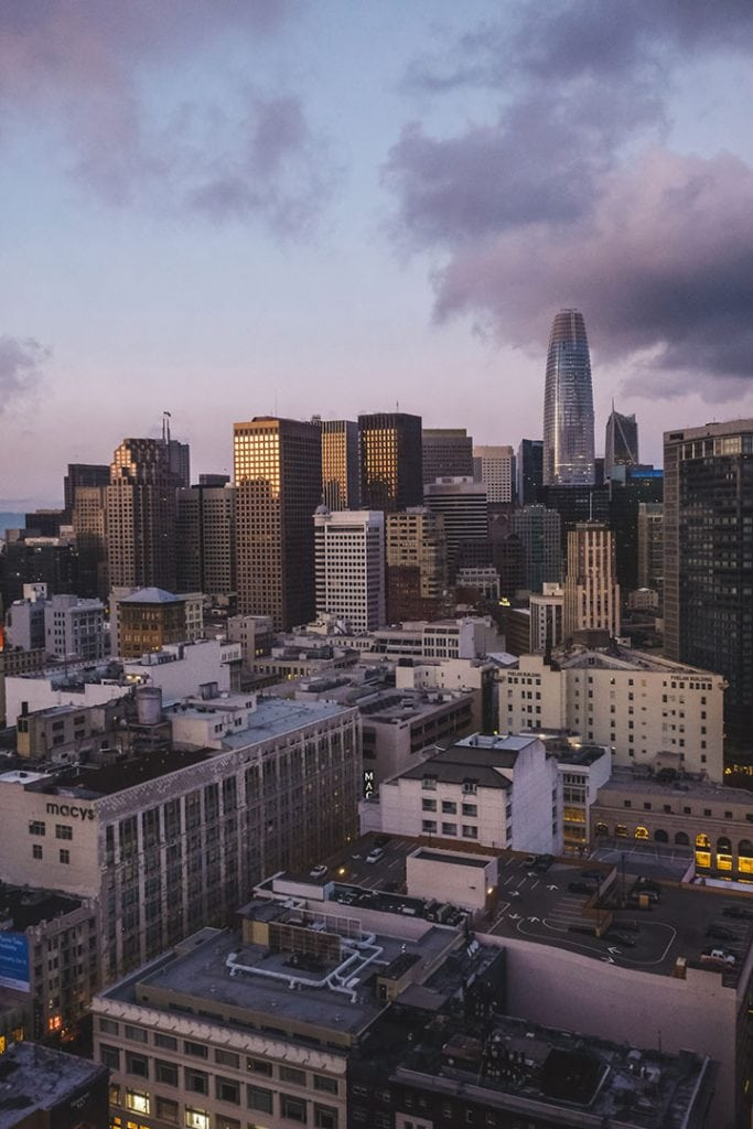 Stay near Union Square, right in the heart of San Francisco at the Parc 55 | Book a room with an incredible view at the The Parc 55 San Francisco, A Hilton Hotel