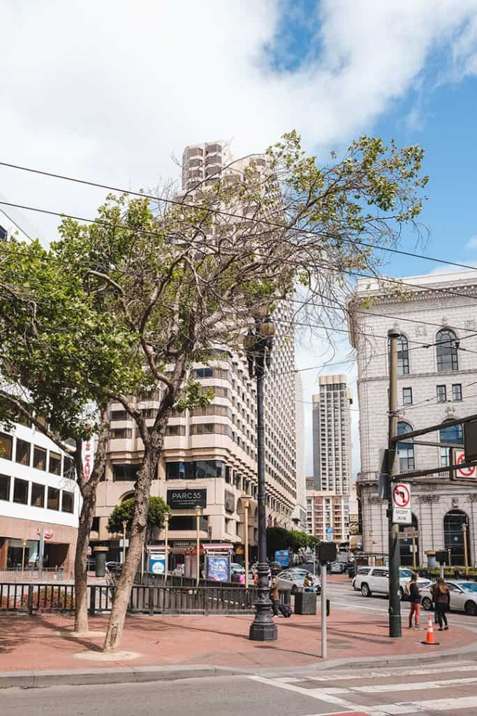 Stay near Union Square, right in the heart of San Francisco at the Parc 55 | The Parc 55 San Francisco, A Hilton Hotel