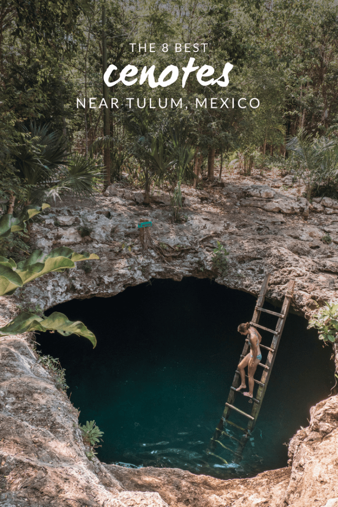 The 8 best cenotes near Tulum, Mexico (that aren't on the top 10 lists | There are over 6,000 cenotes sprinkled throughout the Yucatán Peninsula. We visited as many of these natural swimming pools and caves as we could to find the best cenotes near Tulum, Mexico.