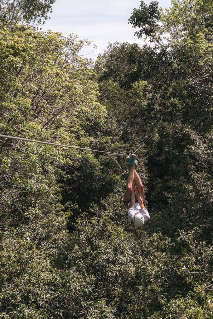Ziplining through the Jungle in Tulum | Sea Turtles, Cenotes and Ziplining: A High-Adventure Tulum Excursion with Edventure Tours Tulum