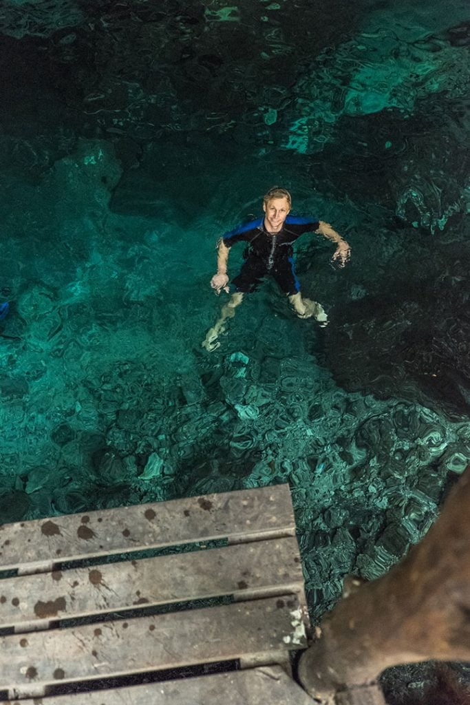 Cenote Bonita in Tulum | Sea Turtles, Cenotes and Ziplining: A High-Adventure Tulum Excursion with Edventure Tours Tulum