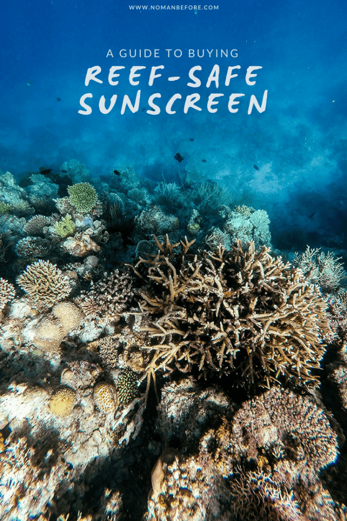 A Guide to Buying Reef-Safe Sunscreen | Is your sunscreen killing the coral reefs? Until last year, I was using traditional chemical sunscreens which contribute to coral bleaching. I made the switch to natural, mineral sunscreens that are both safe for my skin and the coral reefs. Read this guide to find out how to find a reef-safe sunscreen, including a list of ones we love! | #natural #sunscreen #ecofriendly #sustainable #travel