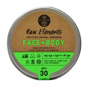 Raw Elements Face + Body Sunscreen