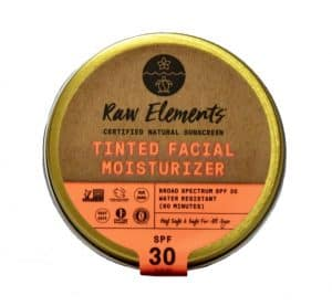 Raw Elements Tinted Facial Moisturizer | Best Tinted Reef-Safe Sunscreens