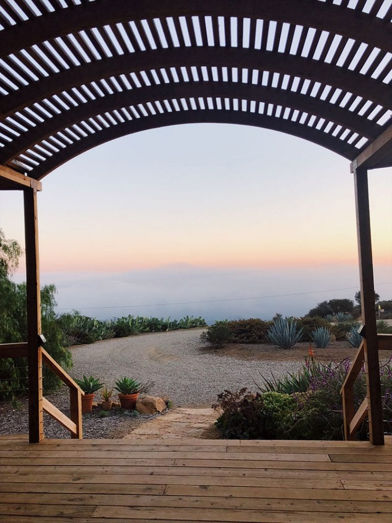 Luxury Yurt in Santa Barbara
