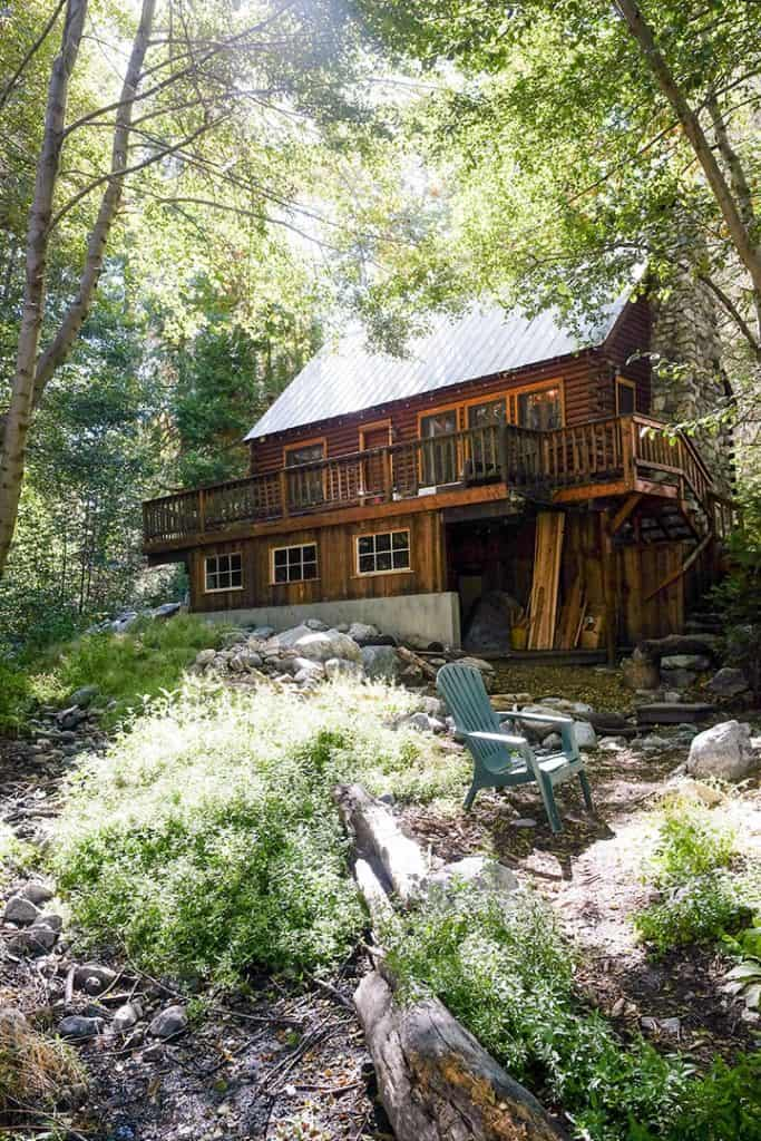 Cabin in Forest Falls, California | Tips for booking the coolest rentals and camping spots in Southern California