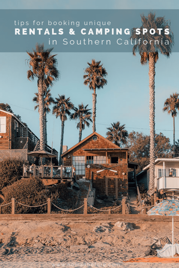Ever wonder how to find amazing places to stay in Southern California -- like an oceanfront vintage trailer or a yurt with an incredible view? Check out these tips on how to find unique rentals and camping spots in Southern California! | #california #travel #familytravel #camping #orangecounty