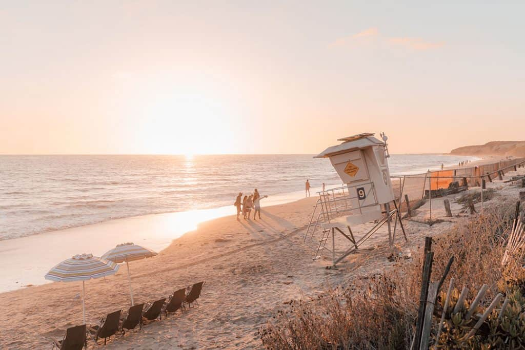 Crystal Cove State Park in Newport Beach, California