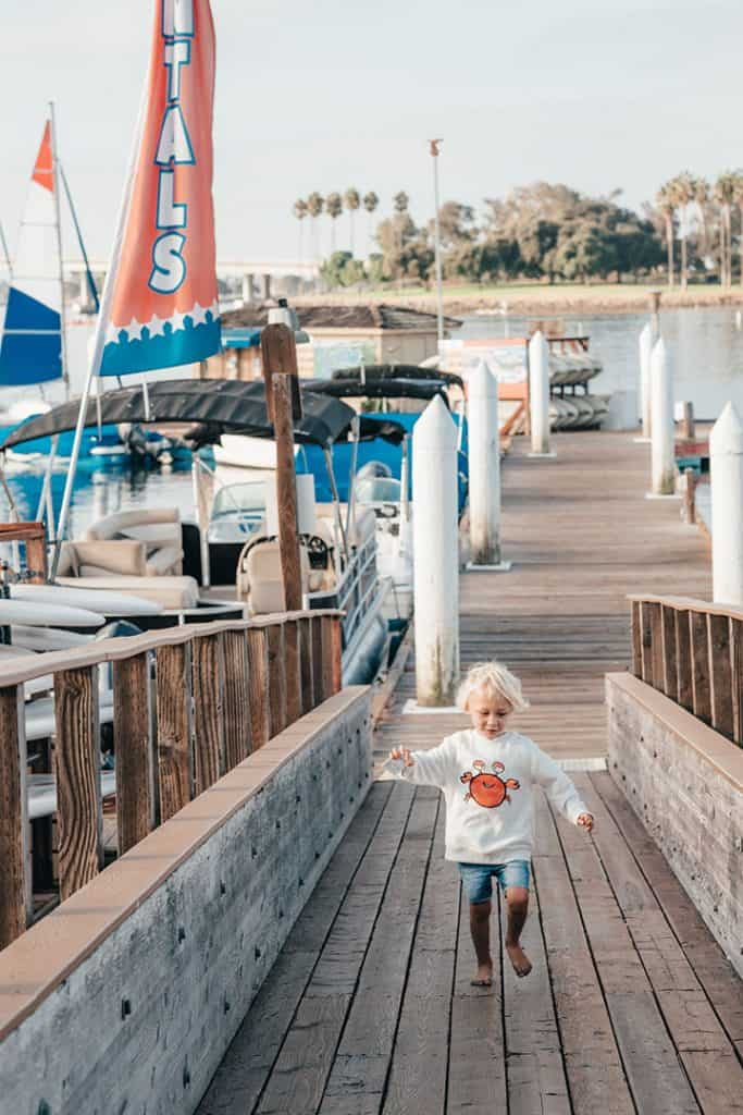 The Pier at Vacation Isle | A Weekend Stay at the Paradise Point Resort & Spa in San Diego, California