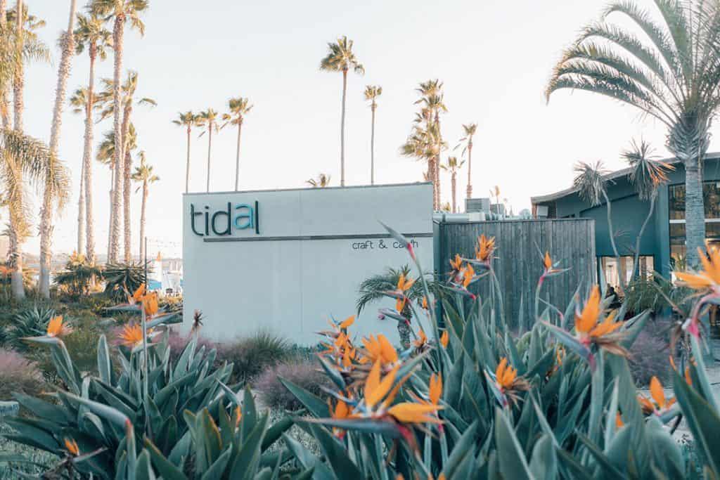 Tidal Restaurant at Paradise Point Resort & Spa in San Diego, California