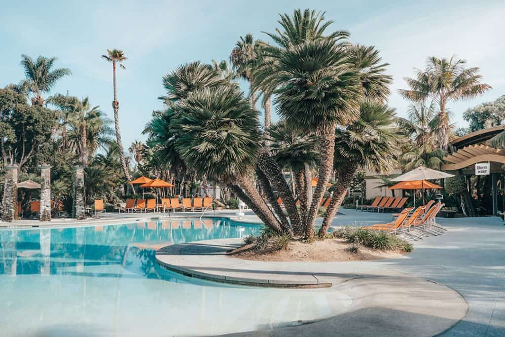 Pool at the Paradise Point Resort & Spa in San Diego, California