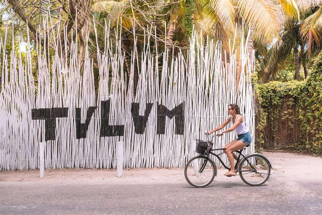 Bike riding through Tulum, Mexico | Things to do in Tulum, Mexico