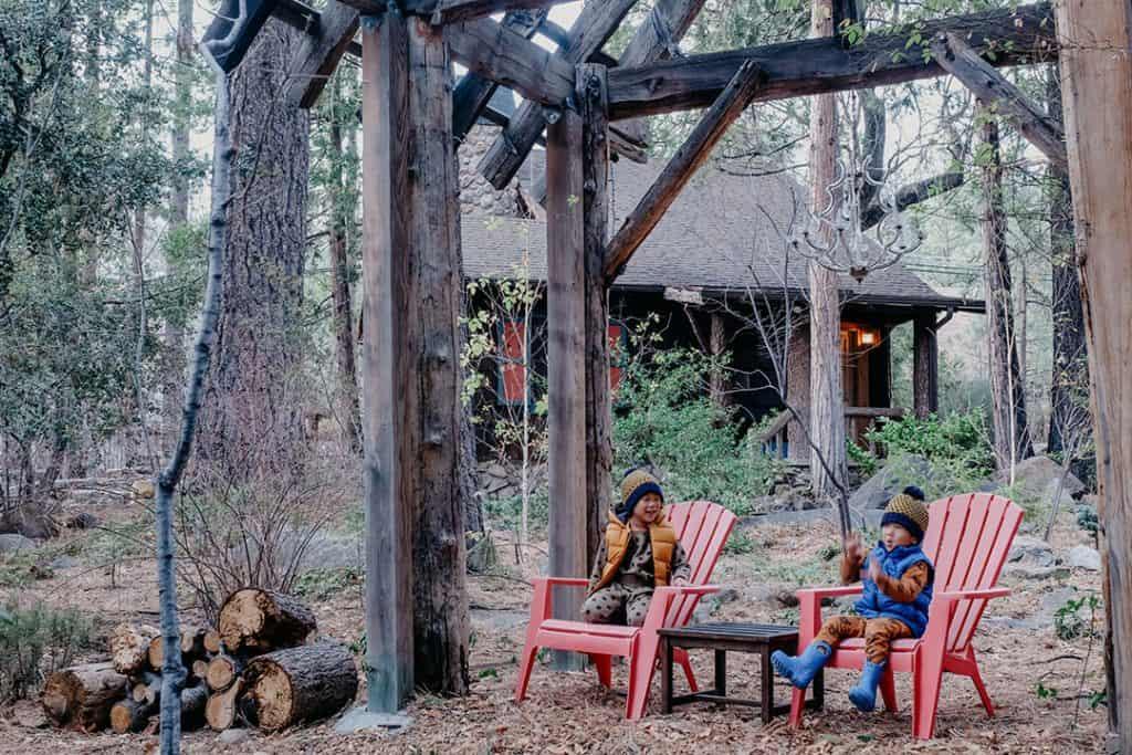 Cabin in Idyllwild, California