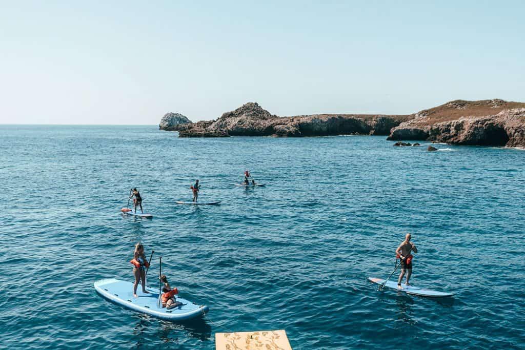 Stand up Paddleboarding at the Las Islas Marietas | Riviera Nayarit, Mexico