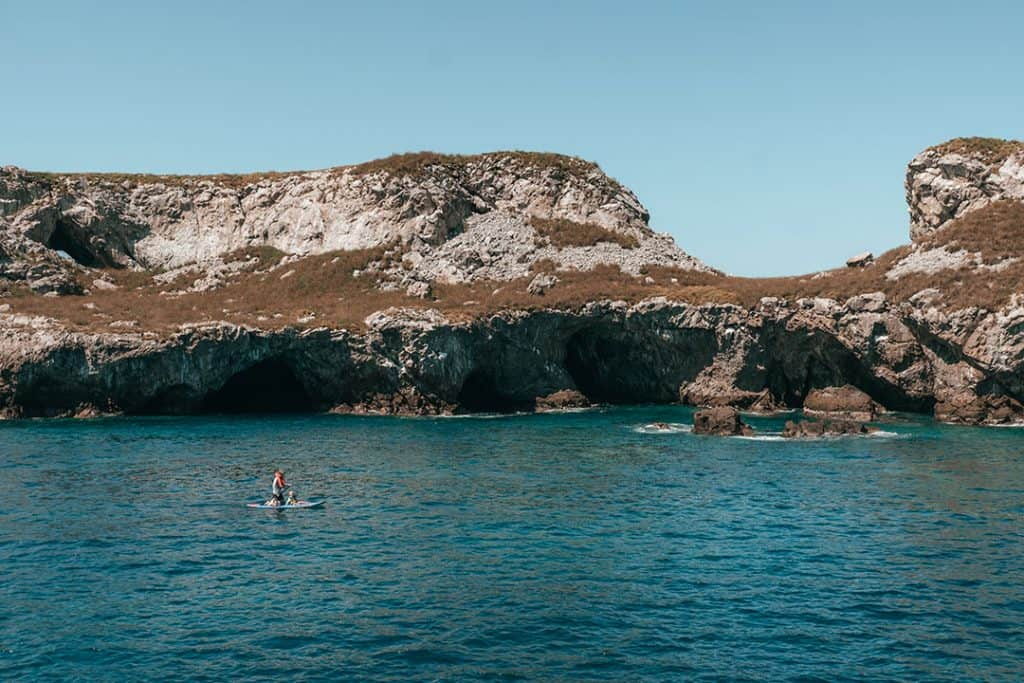 Stand up Paddleboarding at the Marieta Islands | Riviera Nayarit, Mexico