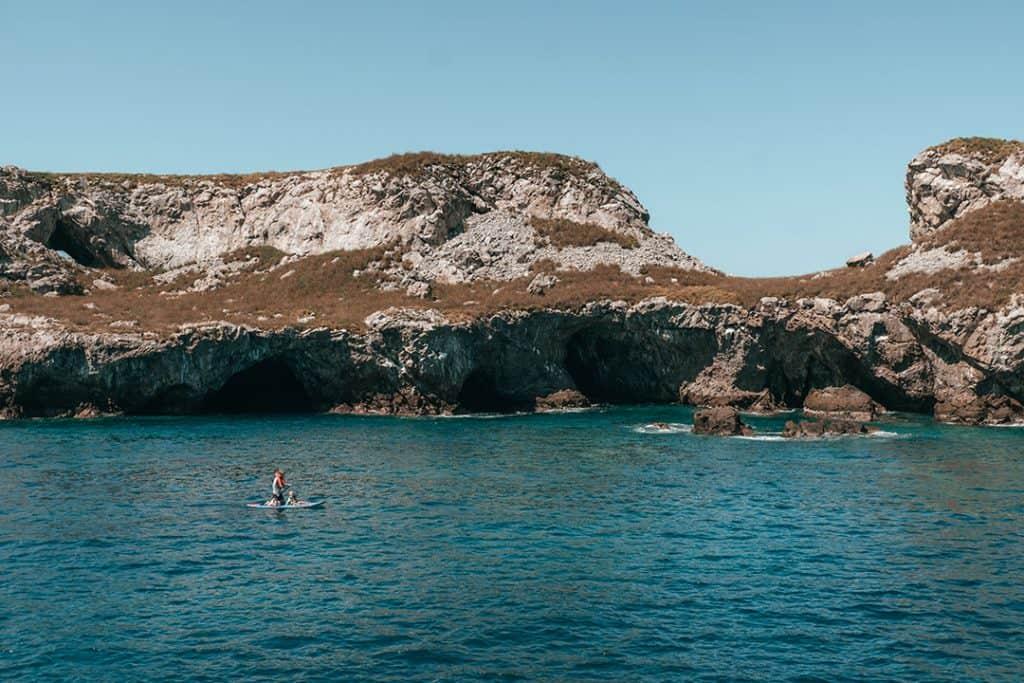 Stand up Paddleboarding at the Marieta Islands | Riviera Nayarit, Mexico