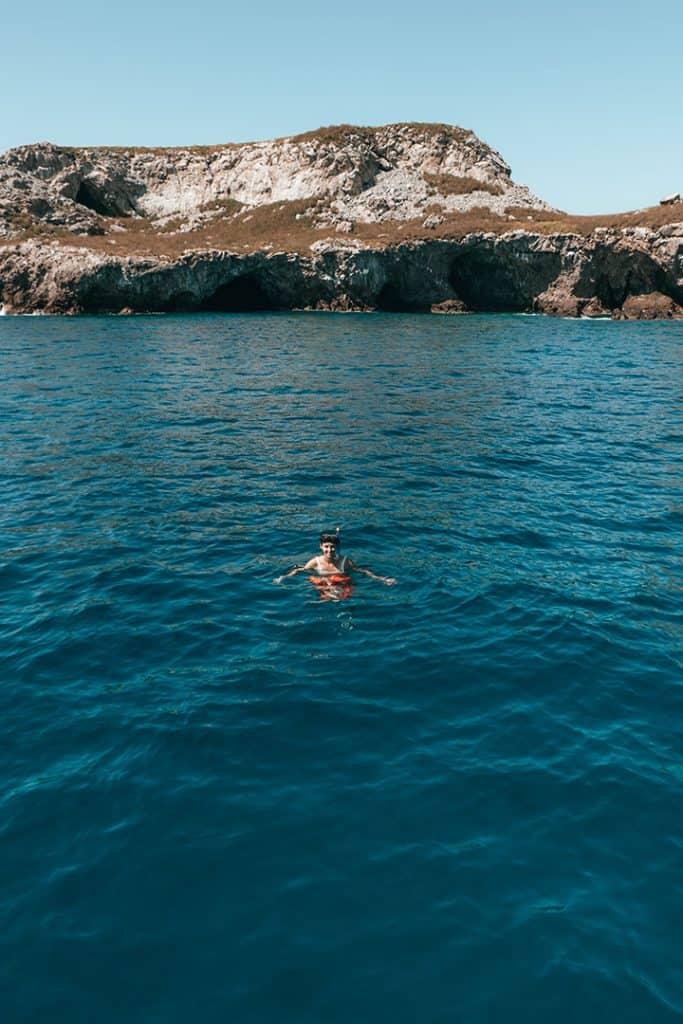 Snorkeling at the Marieta Islands