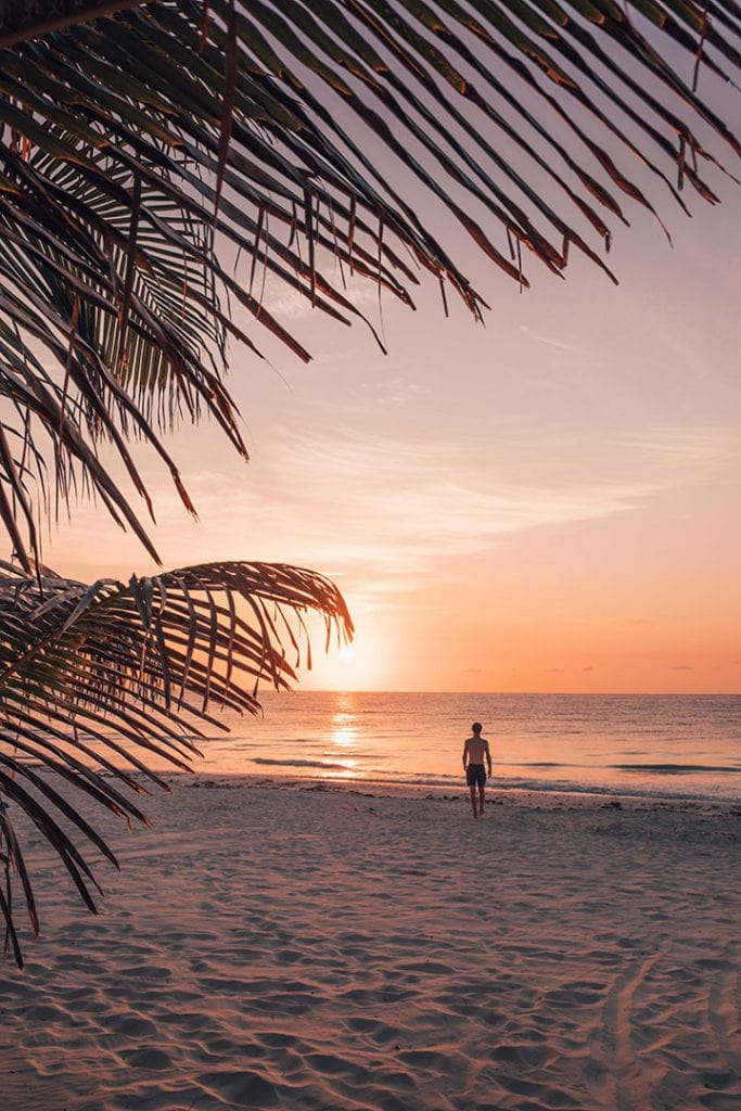 Sunrise on Tulum Beach | The Best things to do in Tulum, Mexico