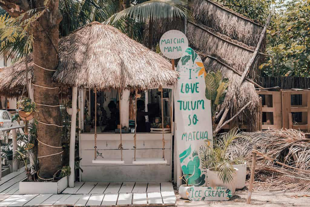 Matchamamma | The Best smoothie shop in Tulum, Mexico