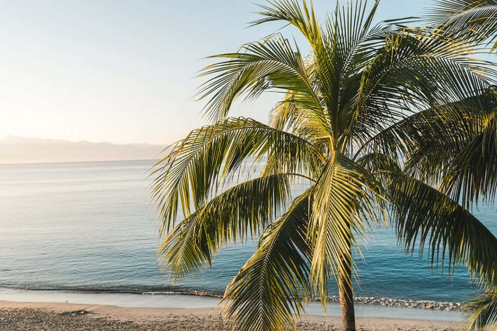 Bucerias Beach in Riviera Nayarit, Mexico