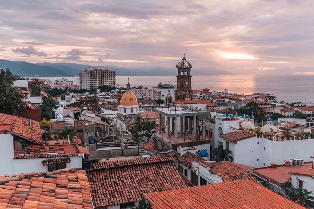 Rooftops of Puerto Vallarta, Mexico