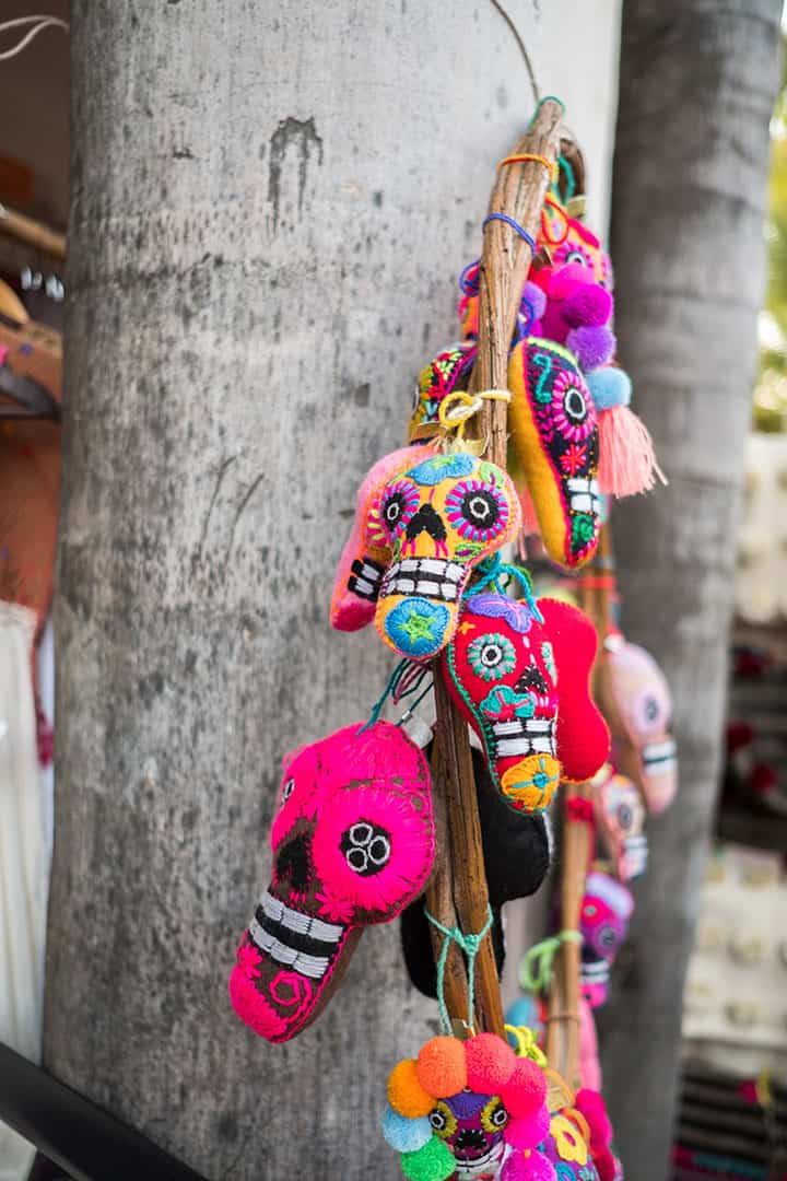 Shop for arts and crafts made by or inspired by the Huichol people in Sayulita, Mexico