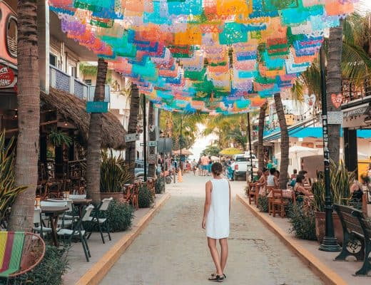 The colorful streets of Sayulita, Mexico | The Ultimate Riviera Nayarit Travel Guide