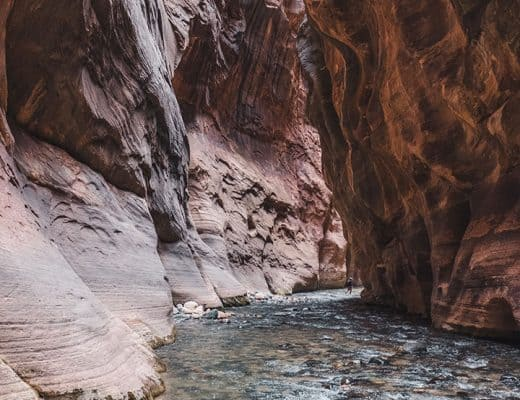 Hiking the Narrows in Zion National Park | Reaching Wall Street, the Narrowest part of Zion Canyon