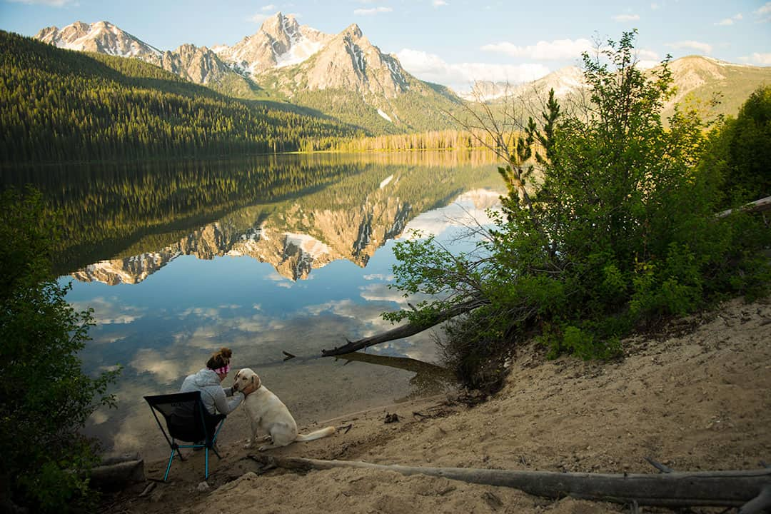 Stanley Lake at Sunrise | Best Things To Do in Sawtooth Mountains, Idaho