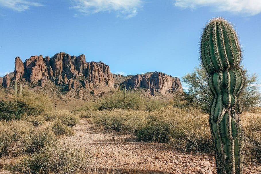 Treasure Loop Trail in Lost Dutchman State Park | Best Hikes near Mesa, Arizona