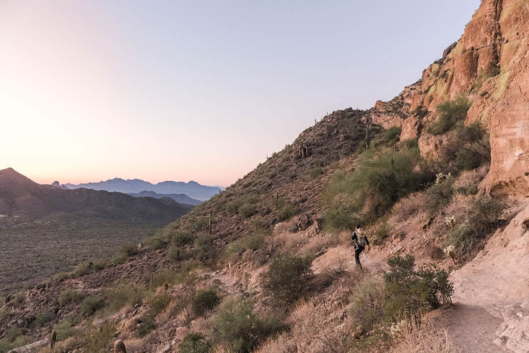 Best Hiking Trails near Mesa, Arizona | Wind Cave Trail in Usery Mountain Regional Park