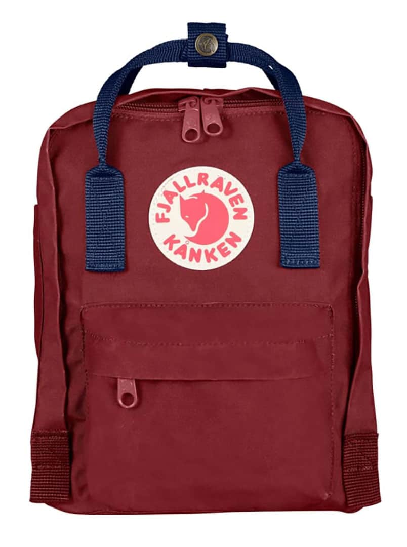 FJÄLLRÄVEN 'Mini Kånken' Toddler Backpack | 8 Cute (and Functional) Travel Backpacks for Kids and Toddlers