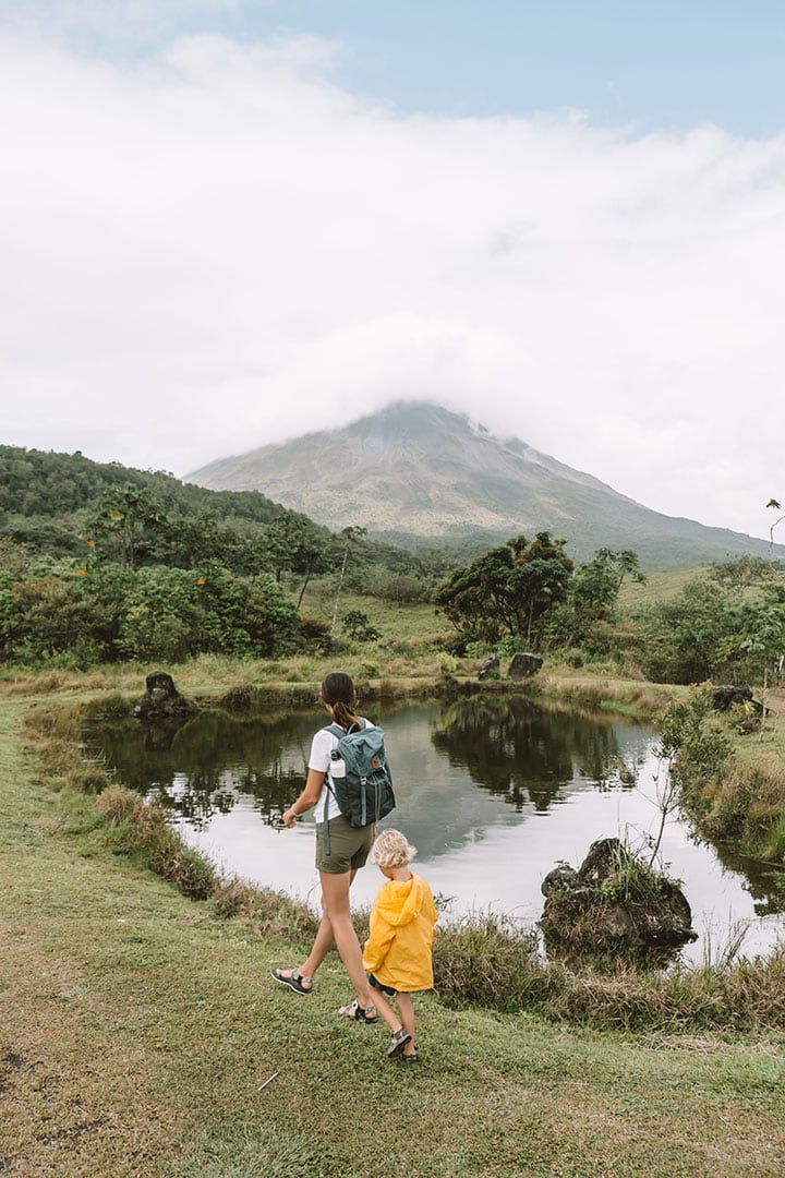 Hiking the 1968 trail with views of Arenal Volcano | 9 epic things to do in La Fortuna, Costa Rica