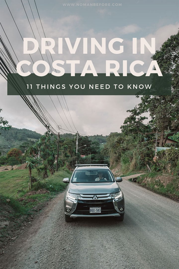 11 Tips for Driving in Costa Rica | Costa Rica has notoriously bad roads, so here's a few things you should know about renting a car and hopping behind the wheel in Costa Rica. | #costarica #travel #driving #carrental #centralamerica #familytravel #adventuretravel