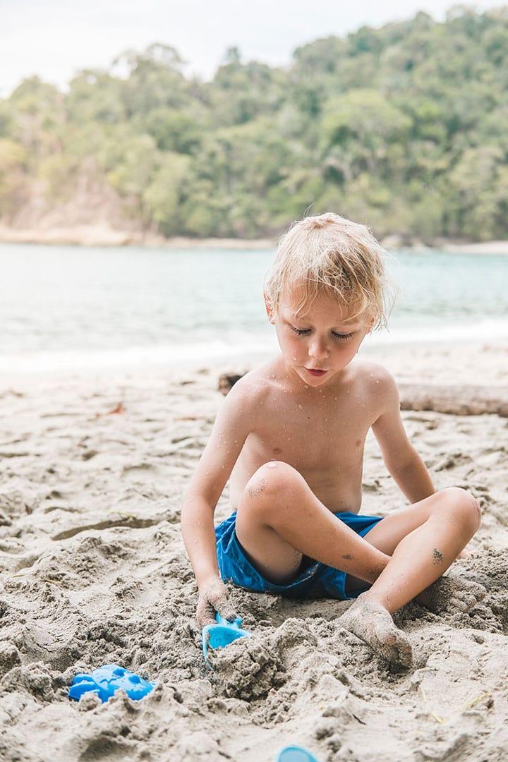 Manuel Antonio Beach in Costa Rica