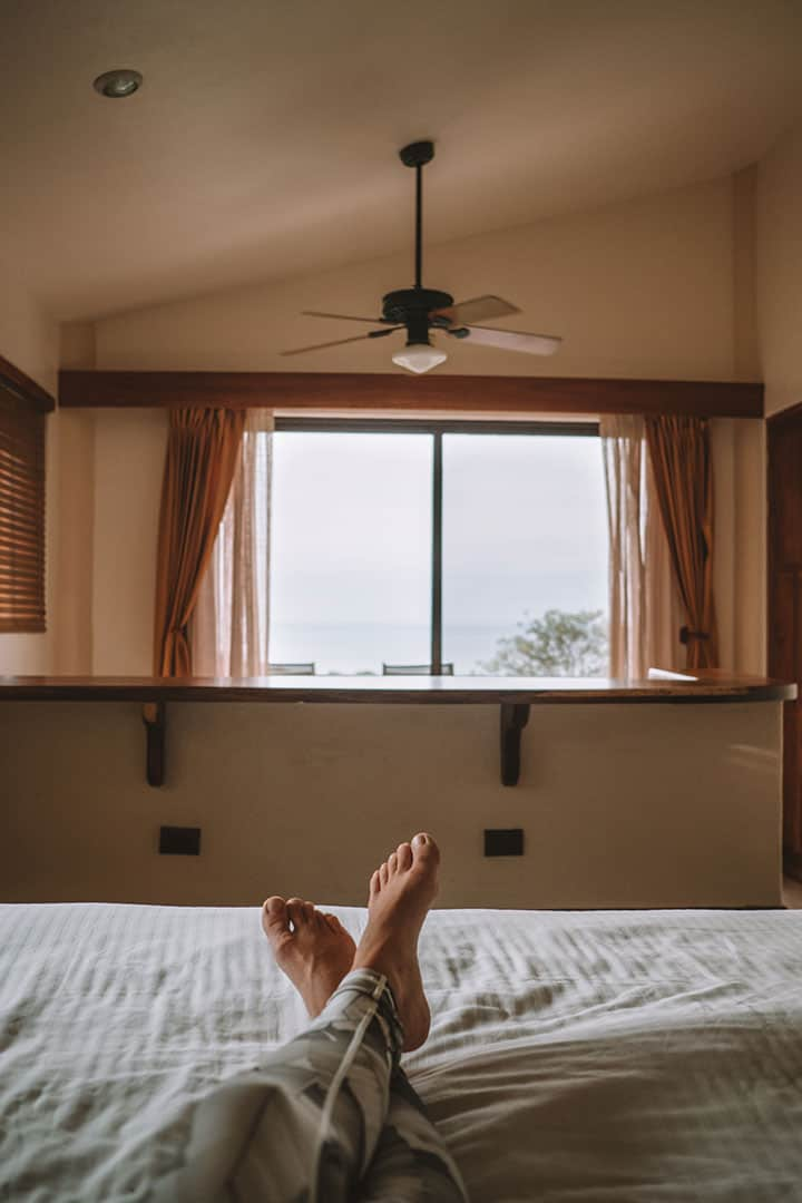 The Si Como No Resort's spacious rooms, right by Manuel Antonio National Park