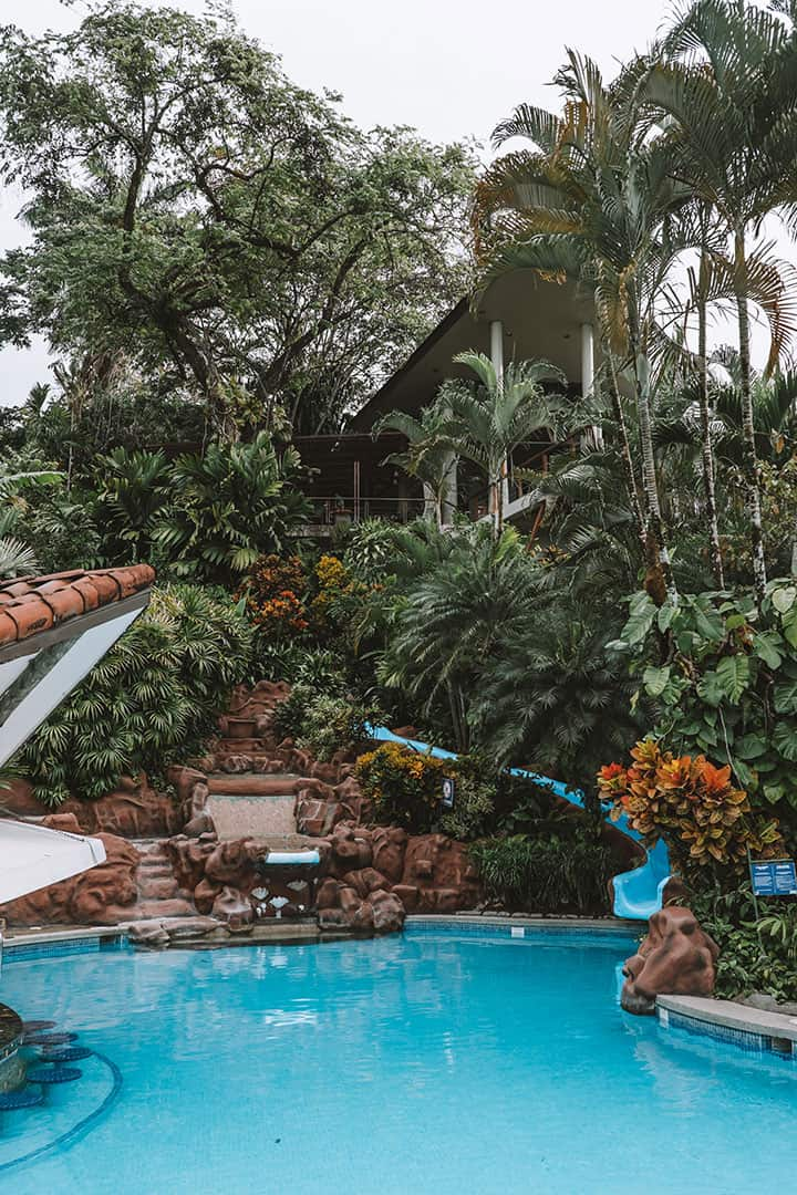 The Family pool at the Si Como No Resort near Manuel Antonio